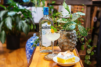 Vodka Infused Lemon Meringue Bars