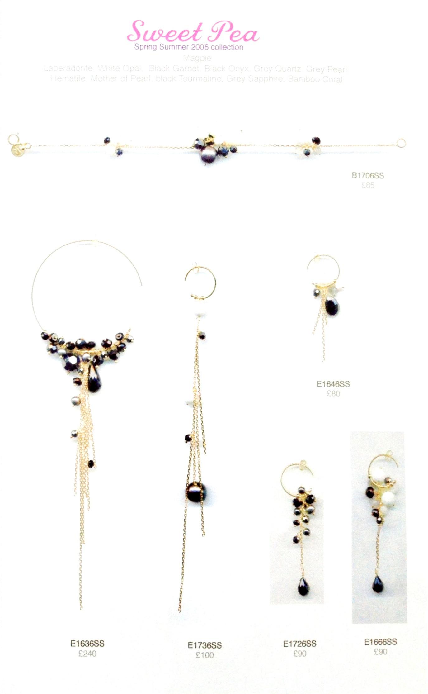Jewellery design for sweetpea