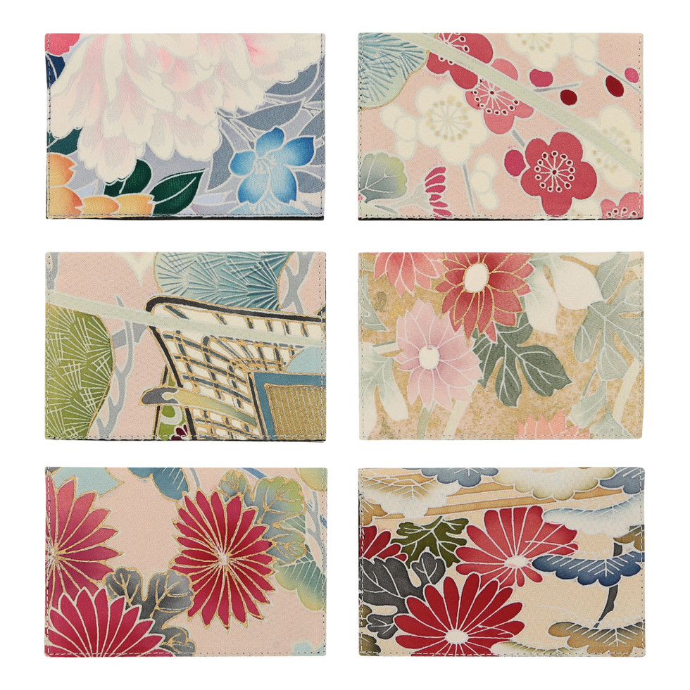 Off cut kimono fabric accessory collection