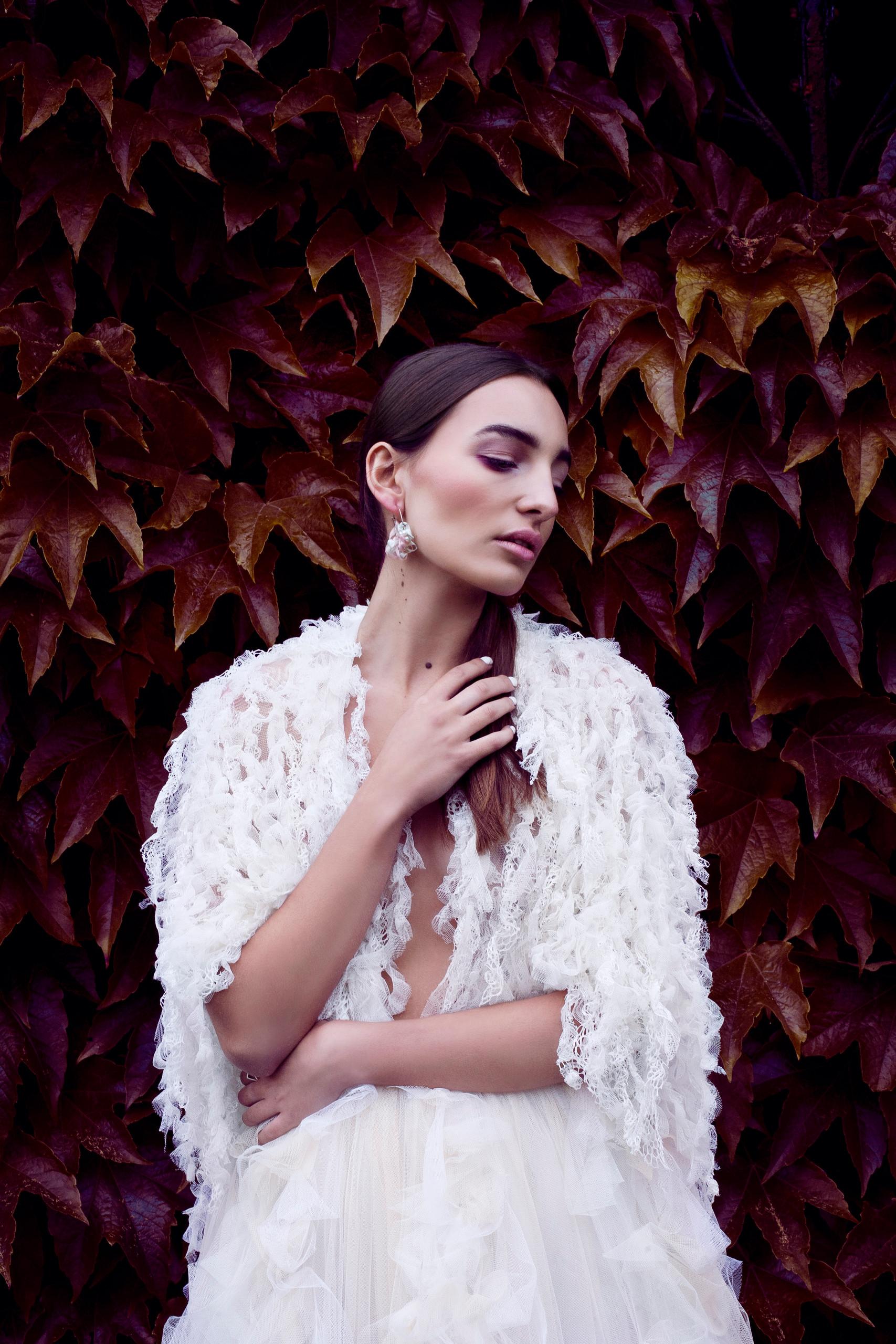 Jewellery model shoot
