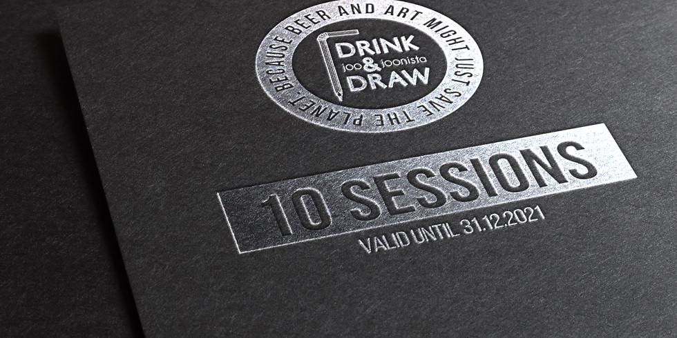 DnD TALLINN GIFTCARD - 10 Sessions