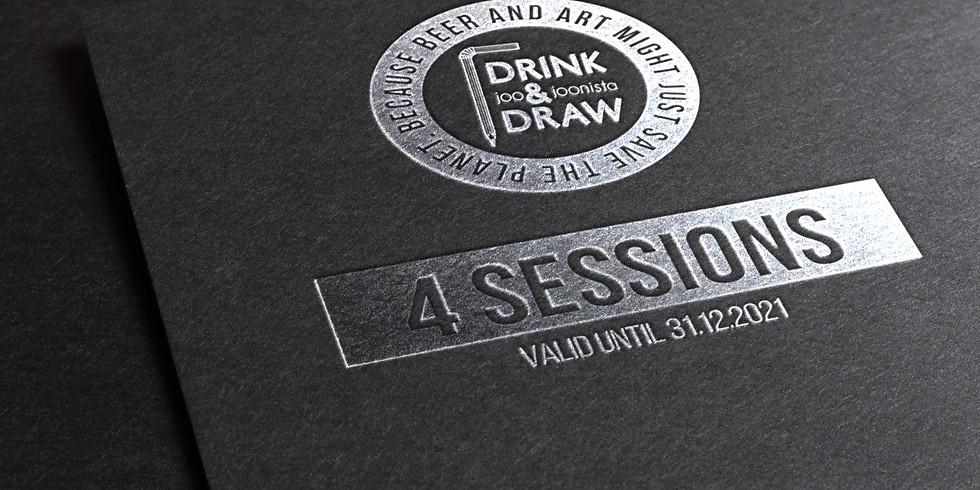 DnD TALLINN GIFTCARD - 4 Sessions