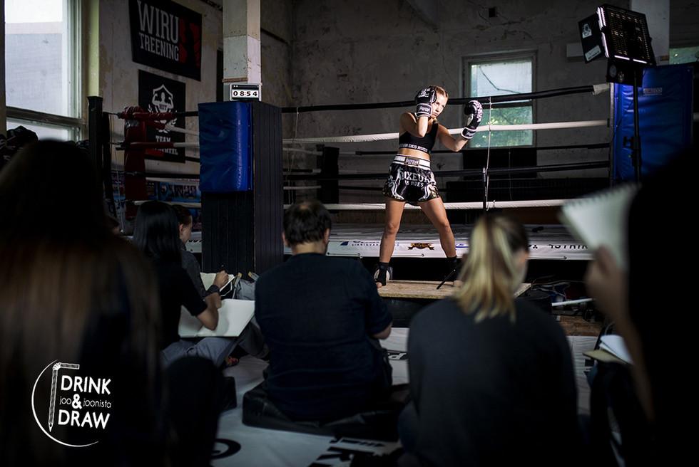 Fight & Draw @Wiru Treening