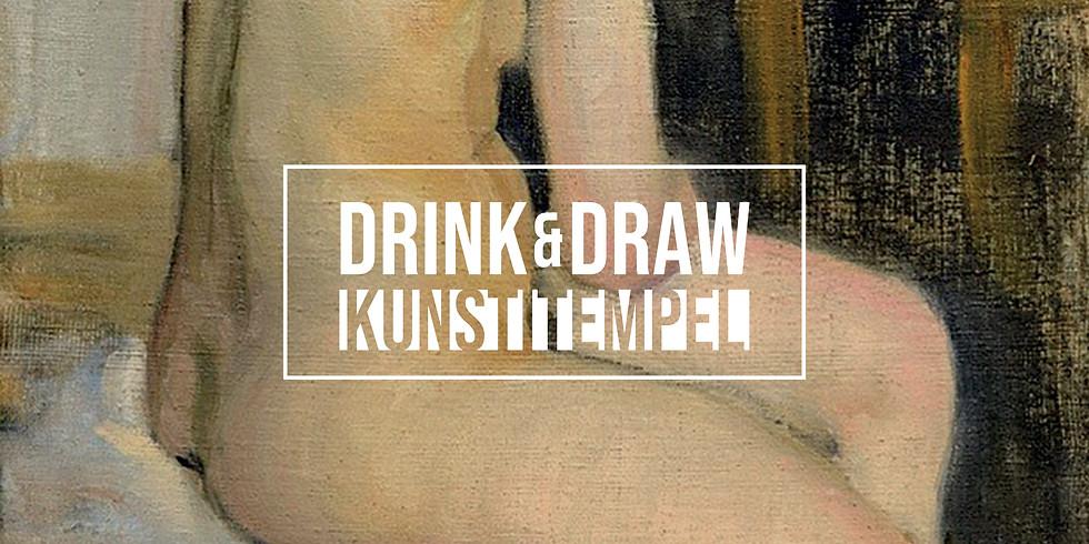Drink & Draw - Kunstitempel @Kiek in de Kök