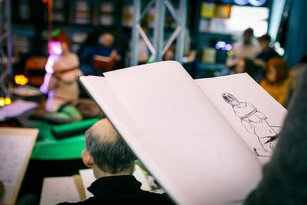 Kink & Draw @Pudelbaar