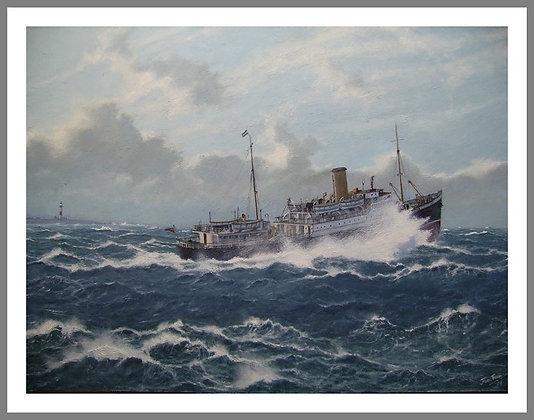 """St. Clair"" off Buchan Ness"