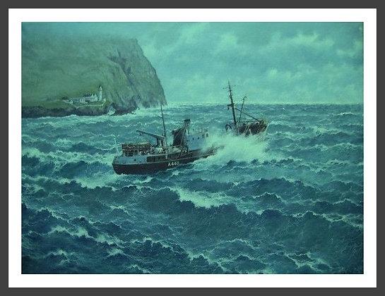 "Aberdeen Trawler ""Leswood"""