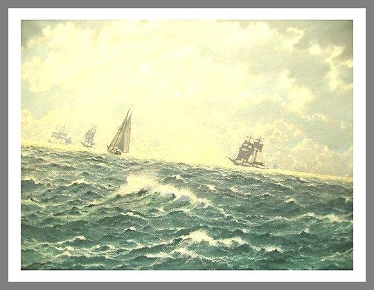 Tall Ships Seascape