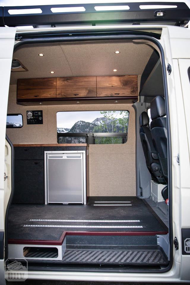 Sprinter Van Camper Open Kitchen