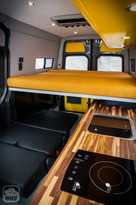 Sprinter Van Camper Interior Sleeping