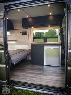 Promaster Van Camper Kitchen Build