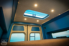 Sprinter Van Camper Skylight WIndows