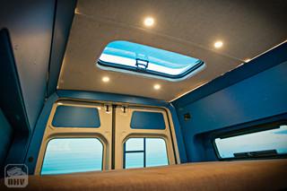 Sprinter Van Camper Skylight