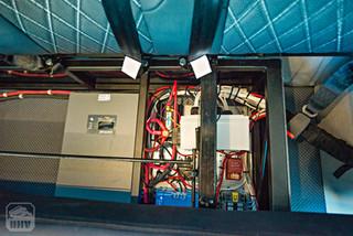 2019 Sprinter Van Camper Electronics Storage