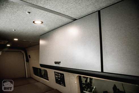 Sprinter Van Camper Cabinets