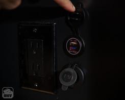 Sprinter Van Camper USB Outlets
