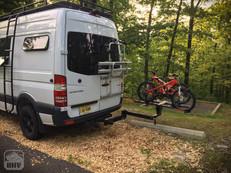 Sprinter Van Camper Rear Bike Mount