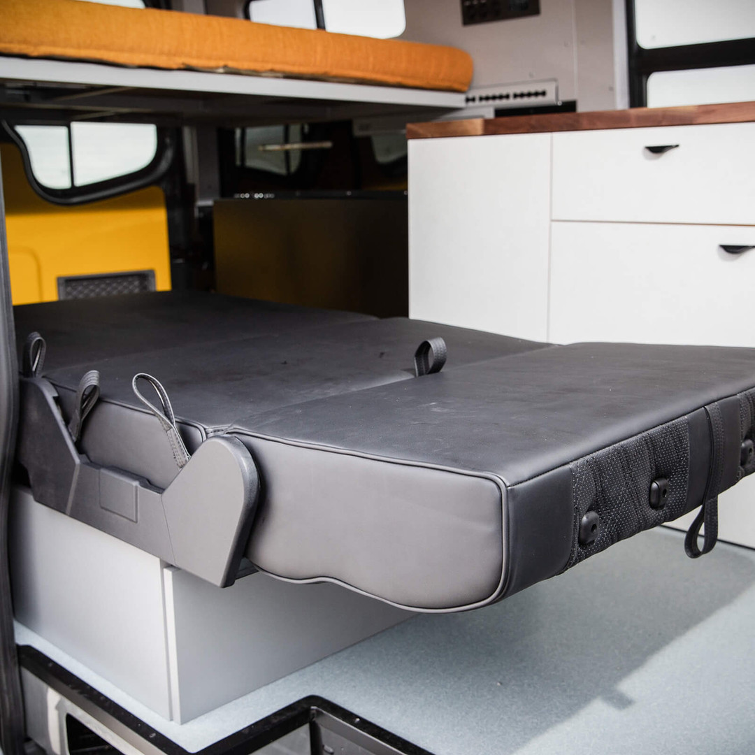 OHV 2-seat Passenger Sleeper Bed