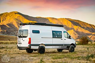 2019 Sprinter Van Camper Exterior View