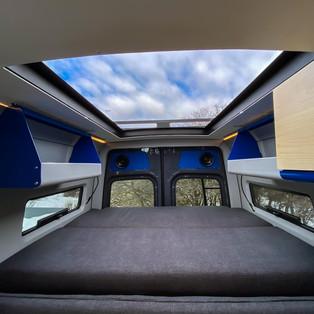 OHV 3-panel Van Bed