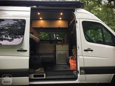 Sprinter Van Camper Interior Lighting