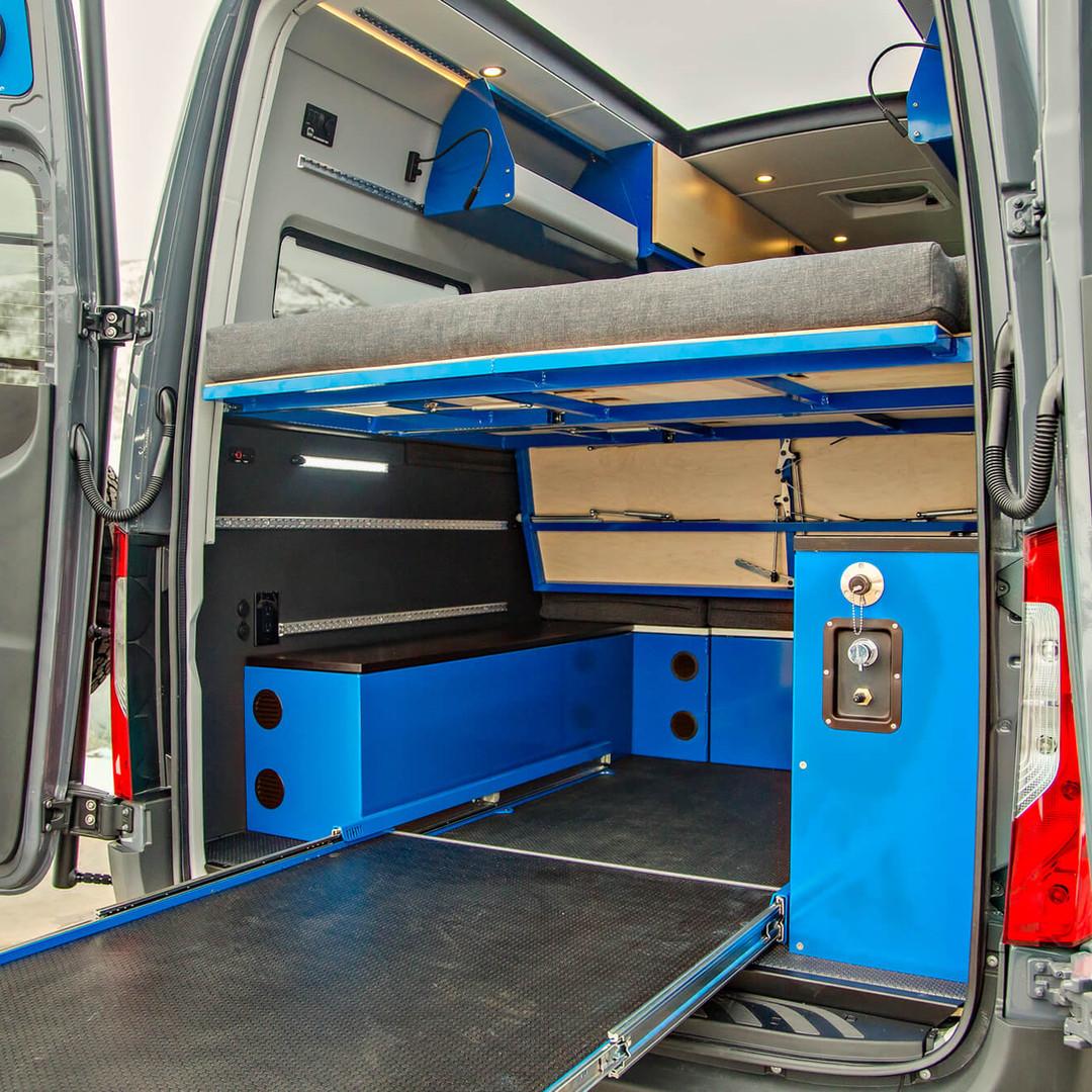 OHV Interior Cargo Anchor System