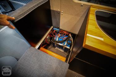 Sprinter Van Camper Battery Storage
