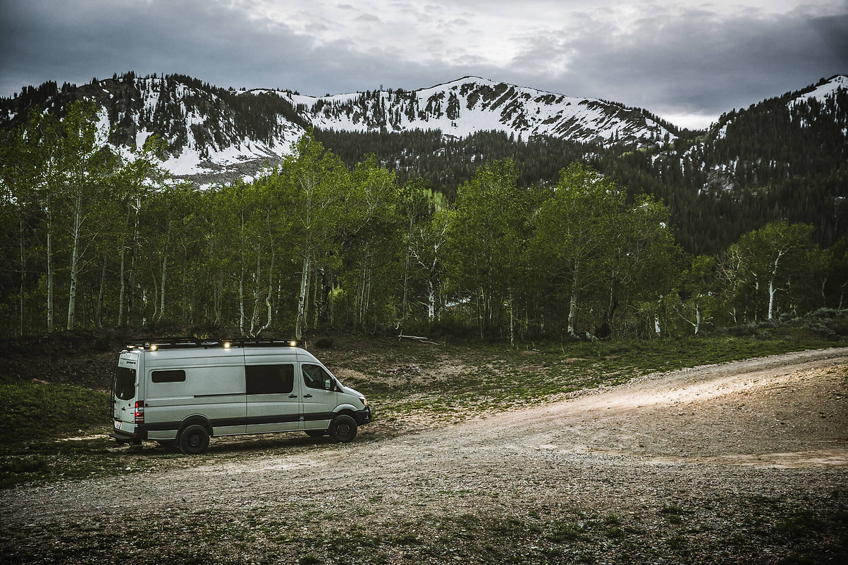 OHV CalamityJane Sprinter Van Build Tan-