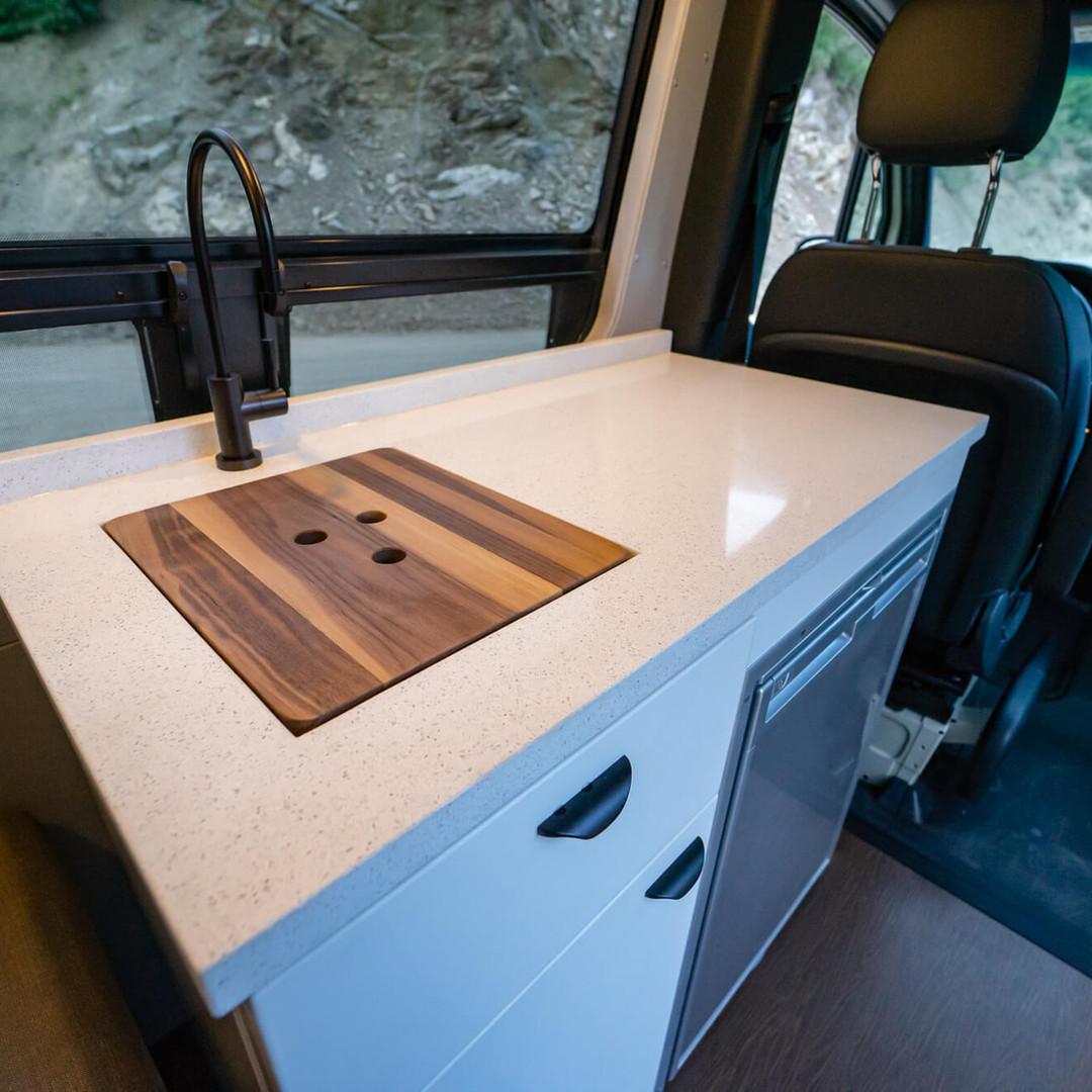 Premium Galley Sink & Countertop