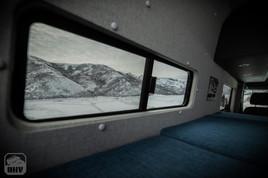 Sprinter Van Camper Bed windows