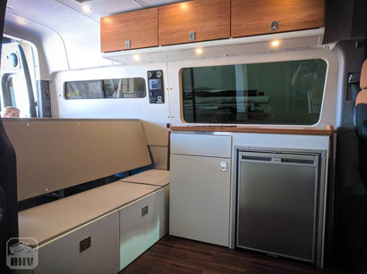Sprinter Van Camper Kitchen