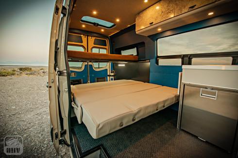Sprinter Van Camper Bench Seat Bed