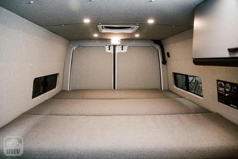 Sprinter Van Camper Bed Cushions