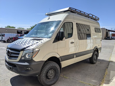 Sprinter Van Camper Front