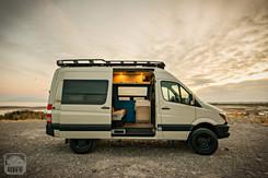 Sprinter Van Camper Side View