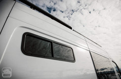 "Sprinter Van Camper Exterior 10"" x 33"" windows"