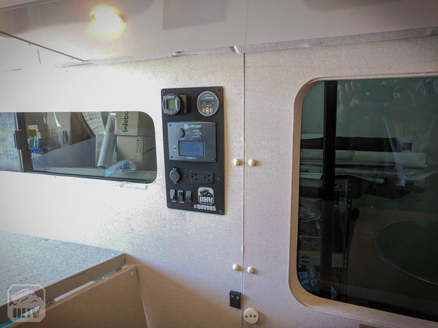 Sprinter Van Camper Electrical Panel