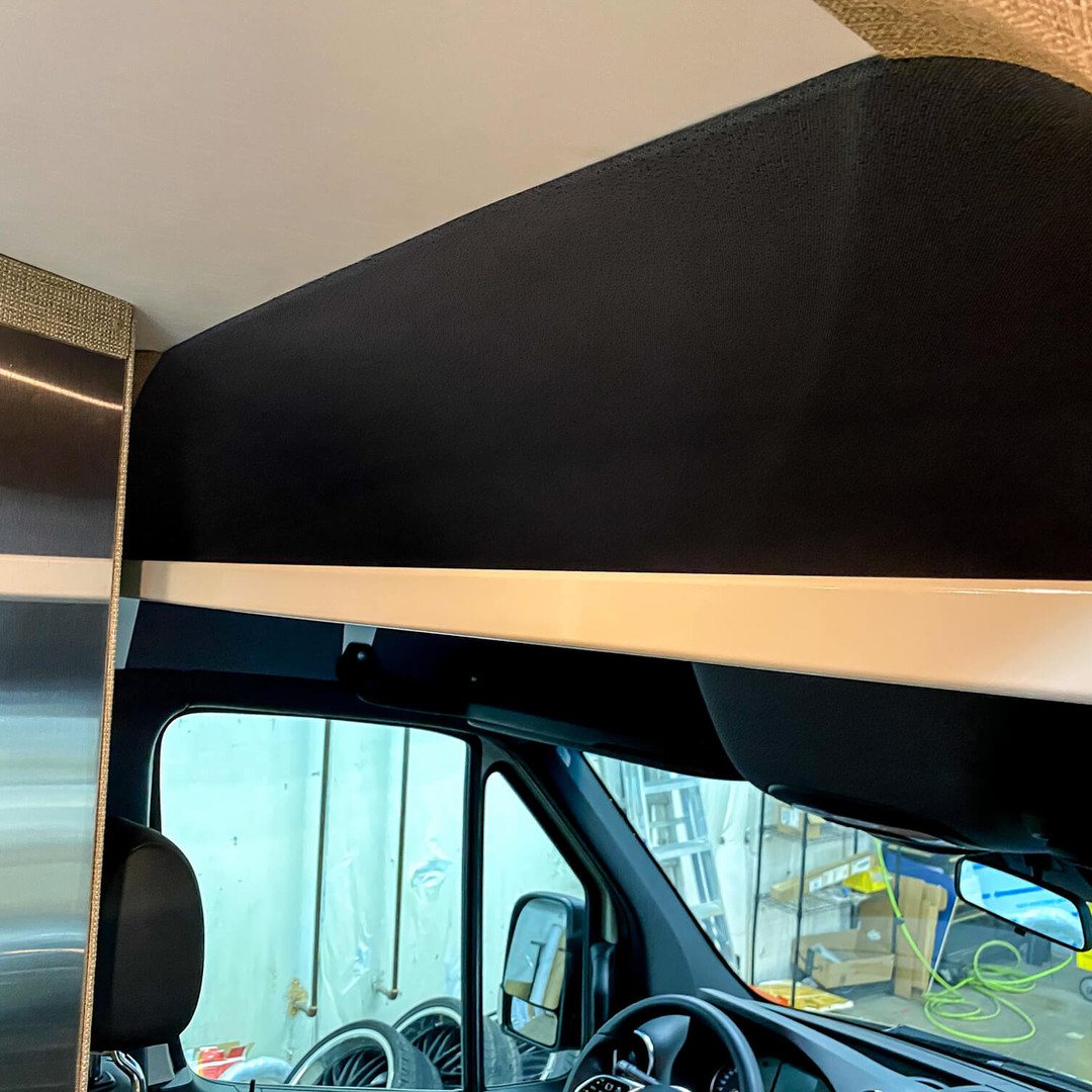 Overhead Headliner Shelf