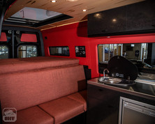 Sprinter Van Camper Interior Seating