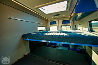 Sprinter Van Camper Beds and Sylight