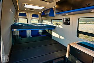 2019 Sprinter Van Camper Passenger Sleeping Bed