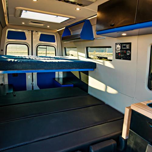 OHV 4-seat Passenger Sleeper Bed