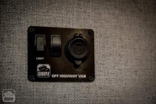 Sprinter Van Camper USB panel