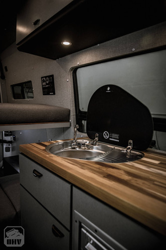 Sprinter Van Camper Kitchen Sink