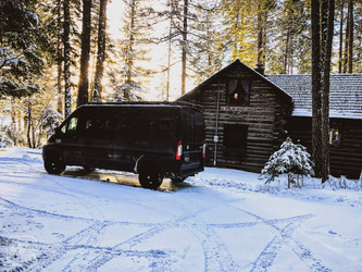 Promaster Van Camper Mountain House