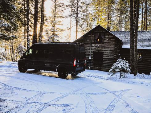 Promaster Van Camper Mountain House