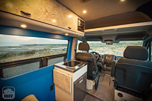 Sprinter Van Camper Compact Kitchen