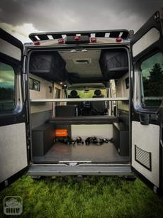 Promaster Van Camper Cargo Area