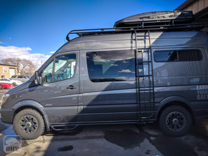Sprinter Van Camper Side Ladder