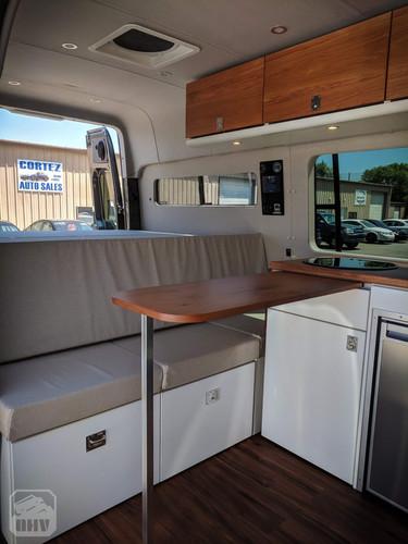 Sprinter Van Camper Kitchen Counter